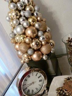 DIY Ornament Trees