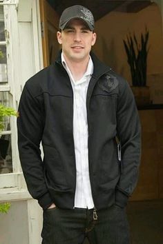 Chris Evans - Captain America... I want... the hat! Lol ;)