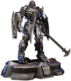 Megatron Statue https://www.sideshowtoy.com/collectibles/transformers-megatron-prime-1-studio-9030701/