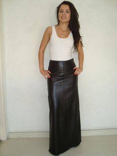 Black Leather Mini Skirt, Black Leather Gloves, Leather Leggings, Skirt Outfits, Dress Skirt, Hobble Skirt, Celebrity Style Casual, Beautiful Long Dresses, Cute Little Girl Dresses