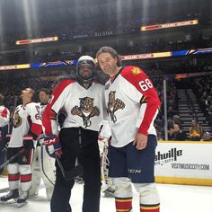 P.K. Subban dressed as Jagr for the Breakway Challenge. I see no difference.