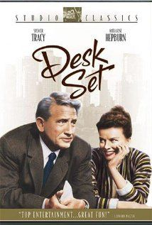 Desk Set (1957) - Spencer Tracy, Katharine Hepburn and Gig Young