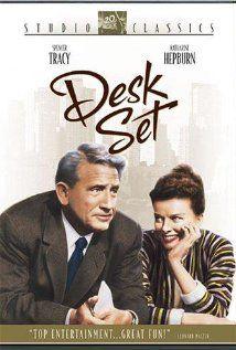 Desk Set (1957) - Spencer Tracy, Katharine Hepburn and Gig Young