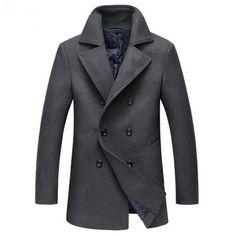 Business overcoat winter use