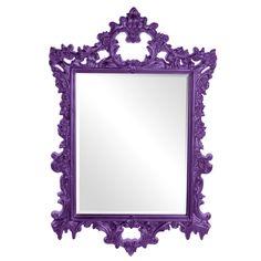 Howard Elliott Sherman Mirror - Royal Purple