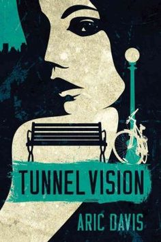 Tunnel vision by Aric Davis.  Click the cover image to check out or request the mystery kindle.