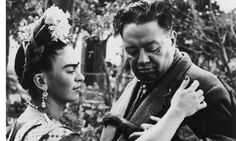 Frida Kahlo with her husband, Diego Rivera. Photograph: Wallace Marly/Hulton Archive
