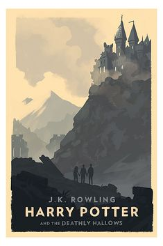 Small poster Harry Potter - The Deathly Hallows - 2007 - Art gallery quality printing
