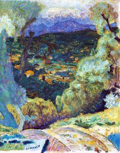 Pierre Bonnard (1867-1947)- Décor Méridional