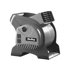 """Air King 9550 6"""" x 6"""" 325 CFM 3-Speed Commercial Grade Pivoting Blowers Fans Air Circulator Utility Fan"""
