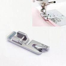 1 pc Rolou Hem Ondulação Calcador Para Cantor Janome Kenmore Juki Máquina De Costura(China (Mainland))