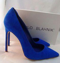 manolo blahnik flat shoes for women Strap Heels, Pumps Heels, Stiletto Heels, Satin Pumps, Hot Heels, Suede Pumps, Ankle Straps, High Heel Pumps, Blue High Heels