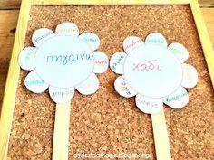 Learn Greek, Greek Language, Teaching Methods, Learning Disabilities, Dyslexia, School Projects, Special Education, Teaching Kids, Literacy