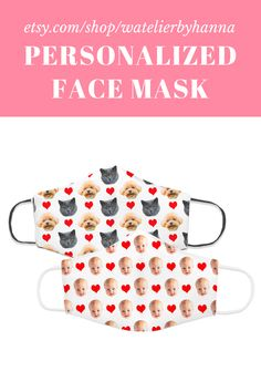 Custom Face Mask / Personalized Mask With Faces / Baby Photo Gift / Face Cover For Mom Dad Grandma #FaceMasks Grandma And Grandpa, Mom And Dad, Cool Pictures, Cool Photos, Unique Gifts, Handmade Gifts, Bad Photos, Gifts For Women, Photo Gifts