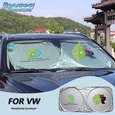 BROSHOO Car Front Windshield Sunshade For Volkswagen Polo Beetle Tiguan Touareg Lavida Bora Amarok Santana Jetta Golf Volkswagen Polo, Vw Tiguan, Golf 4, Parasol, Car Accessories, Beetle, Automobile, Sport, Exterior