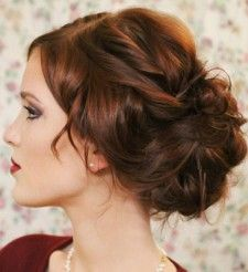 Glamorous retro waves, timeless undo styles, unique chic braids, scroll through this wedding hairstyle gallery to find the perfect bridal beauty look to suit your white aisle! Hair Dos, My Hair, Cute Hairstyles, Wedding Hairstyles, Beautiful Hairstyles, Short Hair Cuts, Short Hair Styles, Graduation Hairstyles, Special Occasion Hairstyles