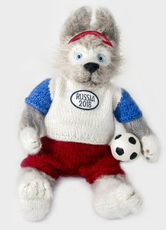 Author's knitted toy Zabivaka (Wolf). Gift toy of original design. Zabivaka Mascot 2018 World Cup. Zabivaka — Official Mascot of FIFA 2018 18cm. Zabivaka Plush. Zabivaka for sale. Zabivaka Meme Furry. Zabivaka the Wolf. Zabivaka Russian Embassy. Zabivaka 3D model. Zabivaka Amazon Buy. Zabivaka Art. Zabiyaka or Zabivaka. Crochet Amigurami