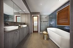 Clarendon Homes. Armadale Master ensuite with internal frosted glass door for toilet privacy. Clarendon Homes, Best Bathroom Designs, Bathroom Ideas, Frosted Glass Door, Bathroom Gallery, Steam Spa, Privacy Glass, Steam Showers Bathroom, Display Homes