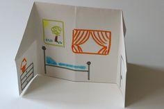 Les enfants sont en vacances mais pas à la maison et ils s'embêtent? Avec un morceau de papier, vous pourrez leur fabriquer une maison de papier ! C'est un simple origami à décorer mais il va les occuper un long moment ;) En plus, elle se range à plat donc pas de souci de stockage ! Instructions  Vous aurez besoin d'un morceau de carton léger (ou de papier) : à vous de voir pour la taille, on peut la faire dans toutes les dimensions. Idéalement, prenez un morceau de 30 à 40 cm de large. ...