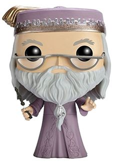 Funko POP Movies: Harry Potter Action Figure - Dumbledore Kids Toy Game #FunKo
