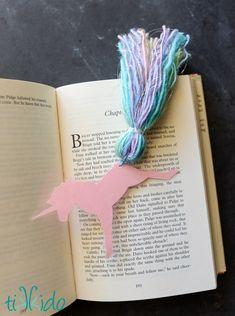 DIY Unicorn Bookmark – Indie Crafts