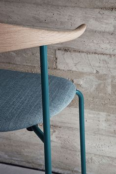 Milan Preview 2015: 15 Products to Watch for: Hans J. Wenger's steel and bentwood CH88 chair from Carl Hansen & Son #interiordesign #interiordesignmagazine #MilanDesignWeek #design #seating