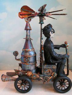 Steampunk Wenzel Online Class  #dolls