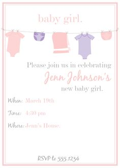 Free card Friday.. free download for a sweet baby shower invite! Hope you <3 it!