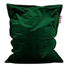 Original Slim Velvet beanbag   Fatboy Bean Bag Seats, Bean Bag Chair, Modern Bean Bags, Relaxed Dog, Outdoor Chandelier, Modern Fan, Visual Comfort, Emerald Green, Simple Designs