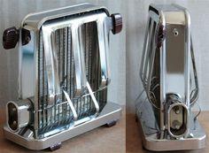 Annons på Tradera: Brödrost Toaster Elektro Helios 18401 Sweden Sigvard Bernadotte Vintage 50-tal