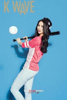 K pop Girl group G Friend is Featured in K Wave Magazine Kpop Girl Groups, Korean Girl Groups, Kpop Girls, Asian Woman, Asian Girl, Asian Ladies, Miu, Jung Eun Bi, Cloud Dancer