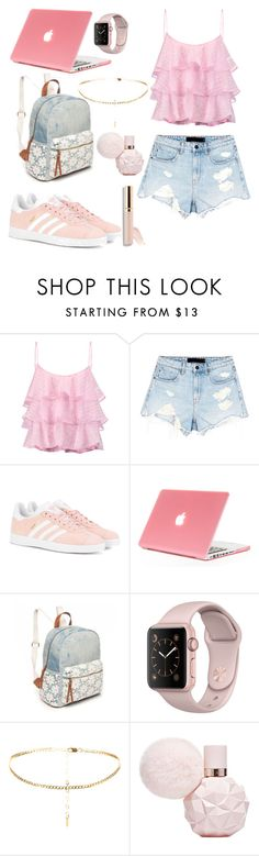 """""""Pink is Perfect!!!💟"""" by daiserz ❤ liked on Polyvore featuring Pierre Balmain, Alexander Wang, adidas Originals, Red Camel and Beautycounter"""