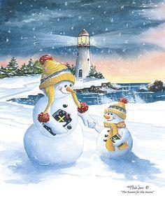 winter snowman - Page 33 Christmas Decoupage, Vintage Christmas Cards, Christmas Pictures, Xmas Cards, Vintage Cards, Christmas Snowman, Winter Christmas, Christmas Crafts, Snowmen Pictures