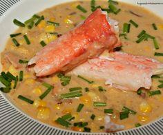 corn crab chowder