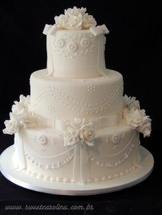 "Wedding Cakes Casamentos - Sweet Carolina ""The Art of Cake"""