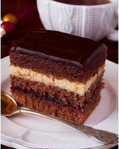 Polish Desserts, Cookie Desserts, Holiday Desserts, Sweet Recipes, Cake Recipes, Dessert Recipes, Gingerbread Cake, Different Cakes, Sweet Cakes