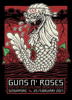 Guns N' Roses - Not in This Lifetime Tour - Singapore, 2017