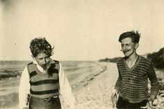 Boris Vian (à droite) et son frère Alain