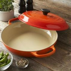 Le Creuset 3 ½ quart Signature Braiser #pepperparty
