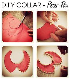 DIY Collar #peterpan