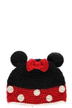 Maisie Bow And Ears Beanie Hat