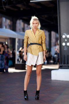 Sydney Fashion Week Spring 2012 #streetstyle #harpersbazaar #sydneyfashionweek #fashion #style