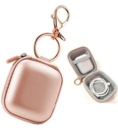 Airpods Case Keychain, AirPod Charging Protective Case, Earbud Case, PU Leather Hard case, Portable Carrying Case with Metal Clasp and Keychain Compatible with Apple AirPods Bluetooth Earphone – Best Accessories Accessoires Iphone, Earphone Case, Accesorios Casual, Airpod Case, Iphone Accessories, Apple Watch Accessories, Coque Iphone, Protective Cases, Pu Leather