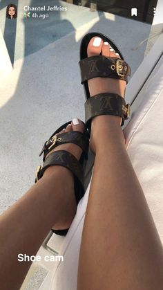 Louis Vuitton Monogram Crosss Body Leather Handles Canvas Handbag Speedy Bandouliere 25 Article: – The Fashion Mart Zapatos Louis Vuitton, Louis Vuitton Shoes, Cute Sandals, Shoes Sandals, Shoes Sneakers, Sneaker Heels, Flats, Hype Shoes, Dream Shoes