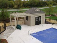 Pool House Ideas popular pool house designs and popular pool side cabana plans to