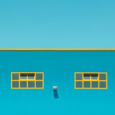 Vittorio Ciccarelli's 'Invisible' series // Clear blue skies + architectural angles