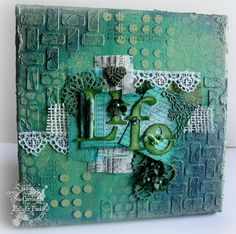Stamping Sue Style: Layer it on and share a word !
