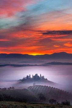 San Gimignano. Tuscany, Italy