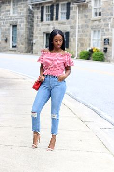 Dressy Casual Outfits, Dressy Tops, Girly Outfits, Casual Chic, Cool Outfits, Short Women Fashion, Black Girl Fashion, Weekend Outfit, African Wear