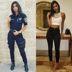 she can do both 19 1 2018 12 59 25 879 More beautiful badasses in (and out) of uniform (37 Photos)